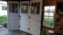 shed inside door
